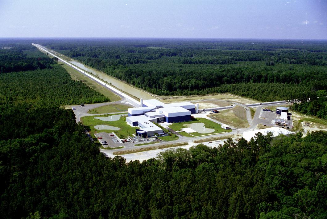 LIGO Livingston Observatory. Image credit: Caltech/MIT/LIGO Lab.