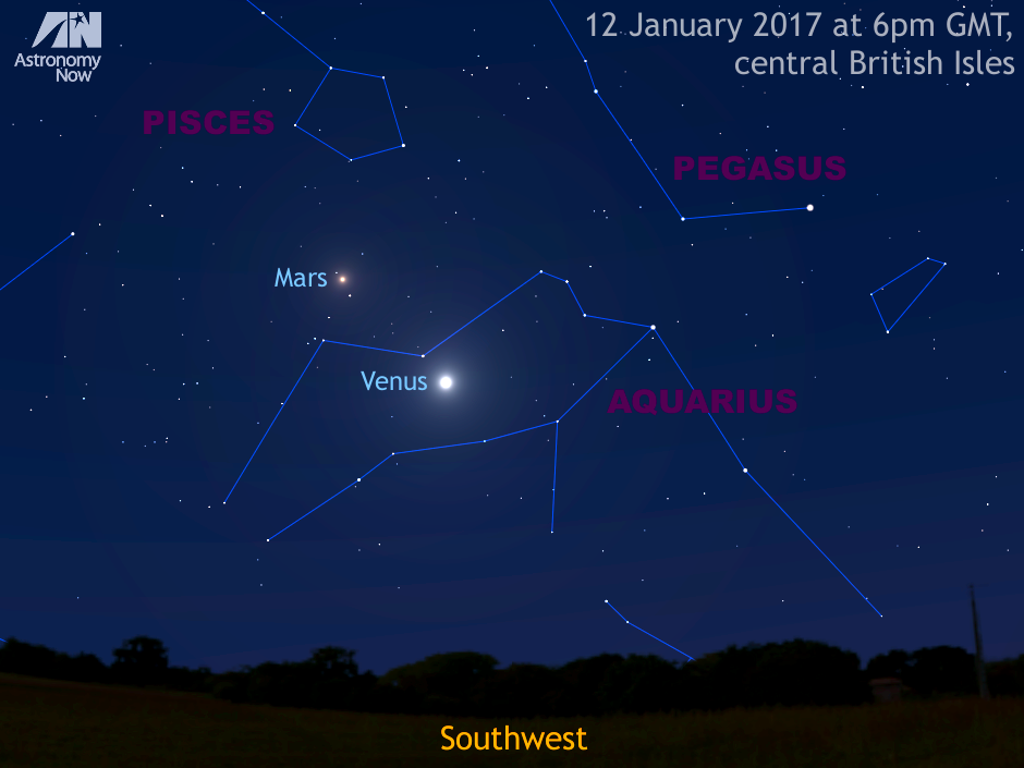 See Venus farthest from the Sun, in conjunction with Neptune