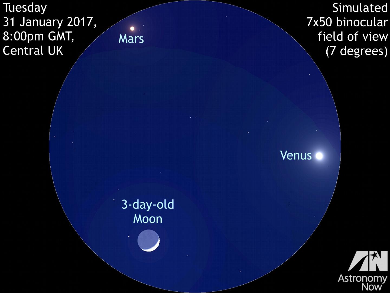 moon and venus 2017 - photo #42