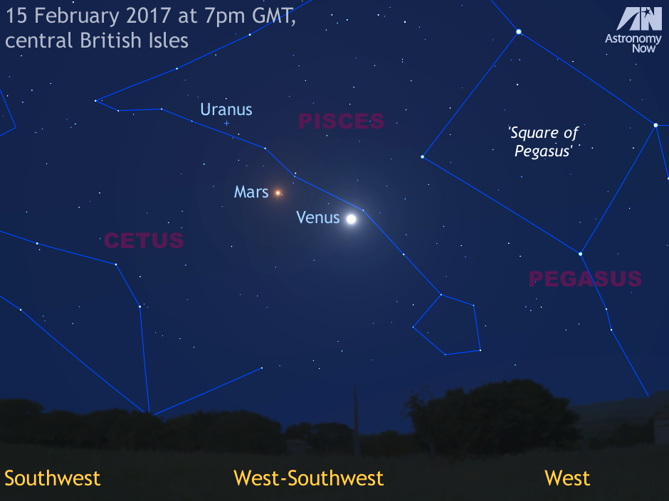 planets in the sky on january first 2017 - photo #45