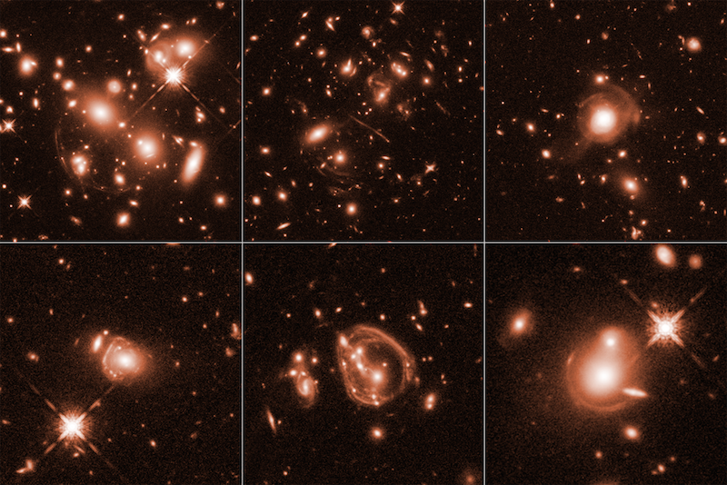Cosmic magnifying-glass effect captures Universe's brightest