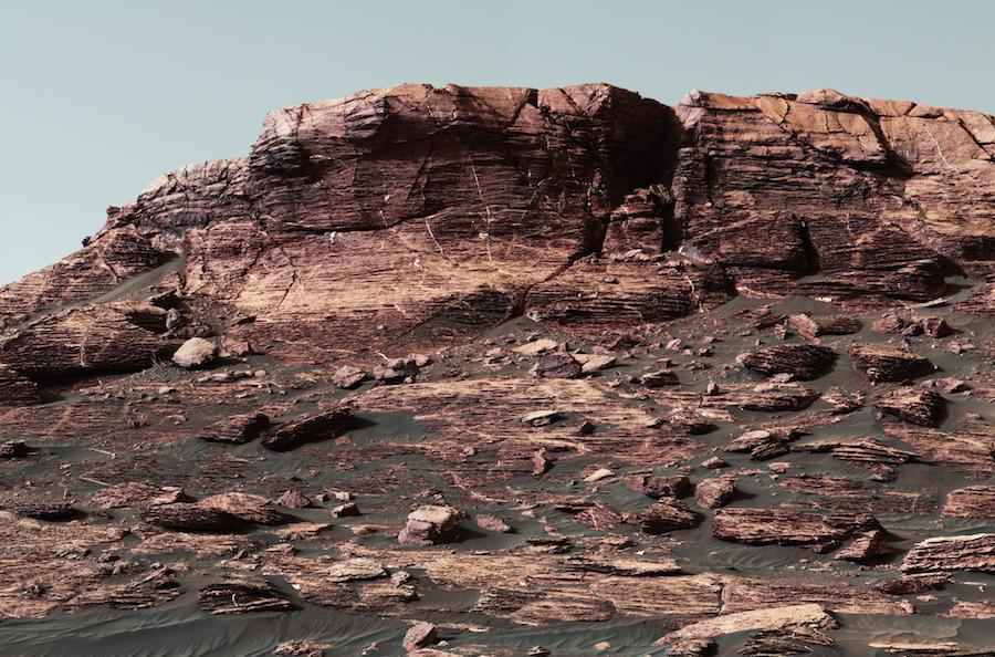nasa s curiosity mars rover climbing toward ridge top astronomy now
