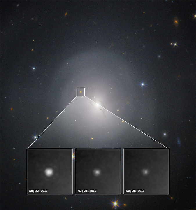 First light detected from violent neutron star collision ...