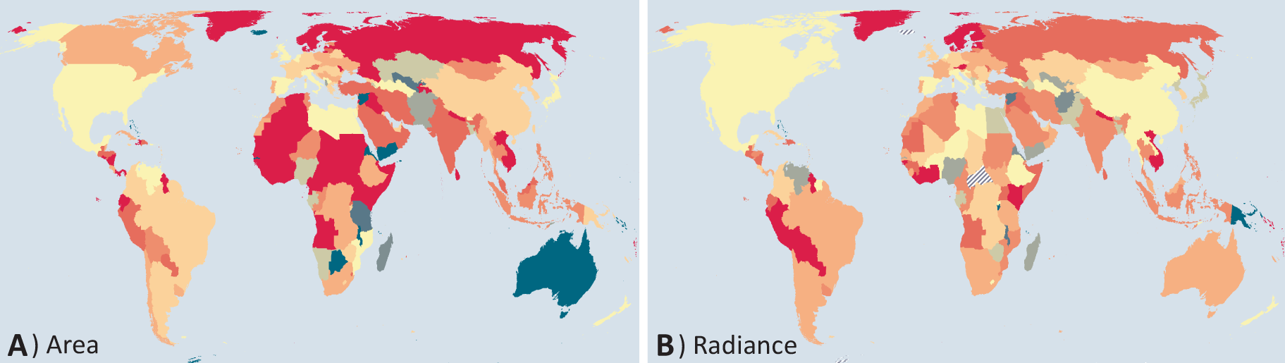 A Brightening World Study Shows Rise In Global Light Pollution - Map of light pollution us
