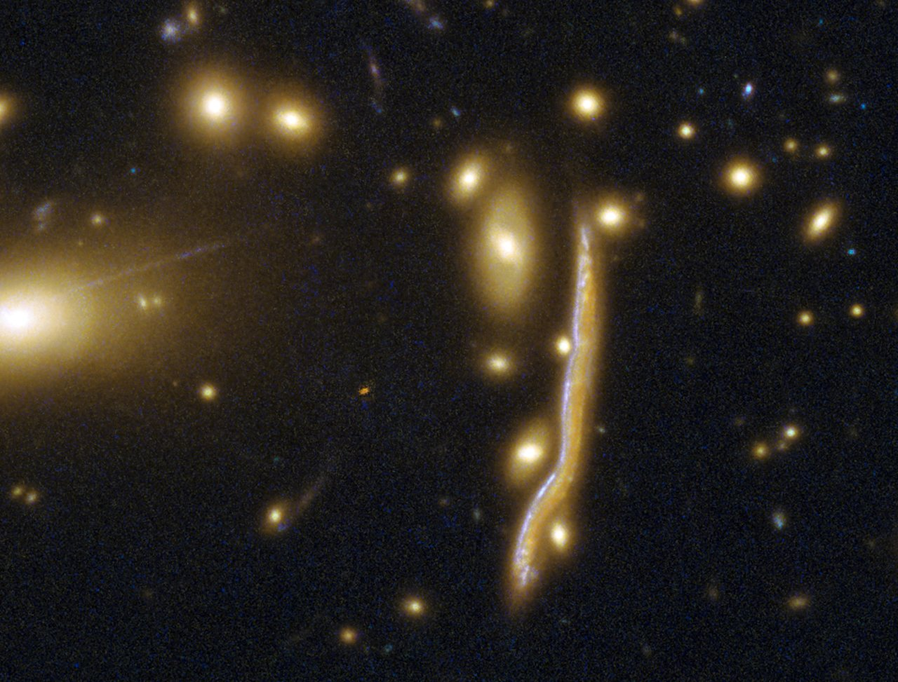 Cosmic snake pregnant with stars – Astronomy Now