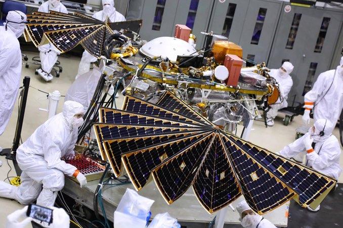NASA's Next Mars Lander Passes Key Test Ahead of May Launch