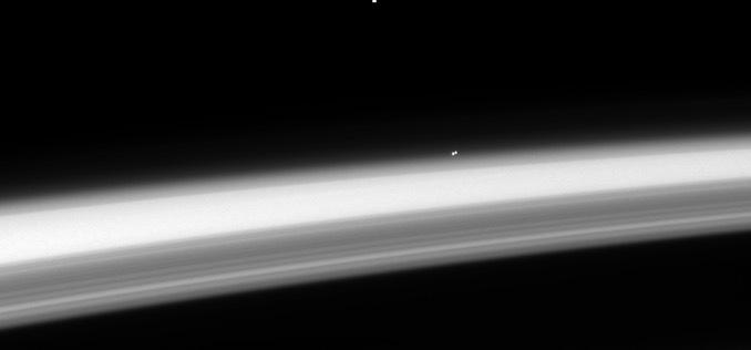 Viewed from Saturn, nearest stellar neighbors offer compelling target