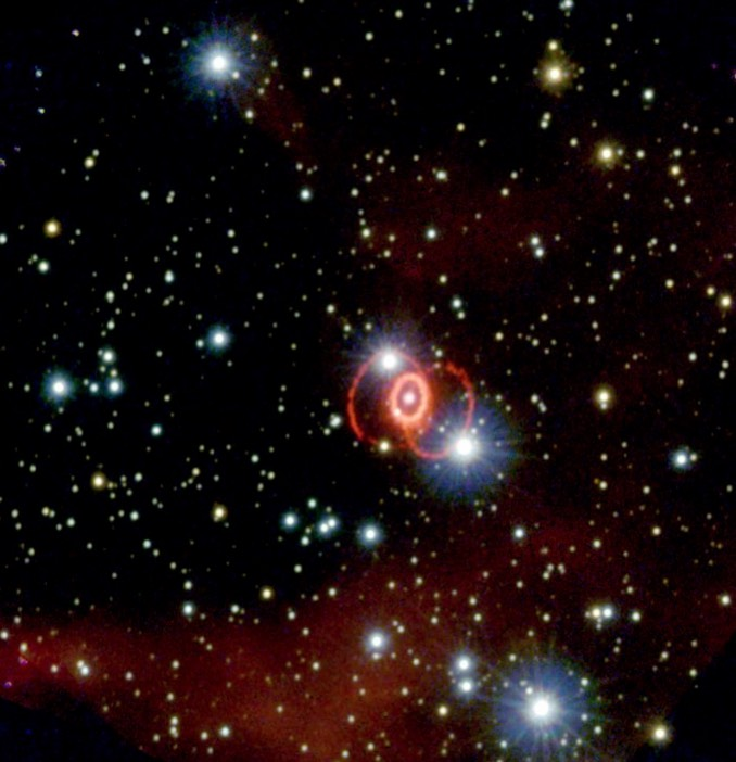 Astronomers detect magnetic field in remains of supernova 1987A
