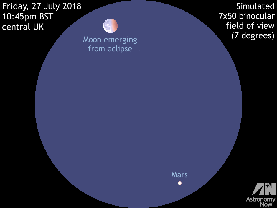 View The Longest Total Lunar Eclipse Of The 21st Century On 27 July