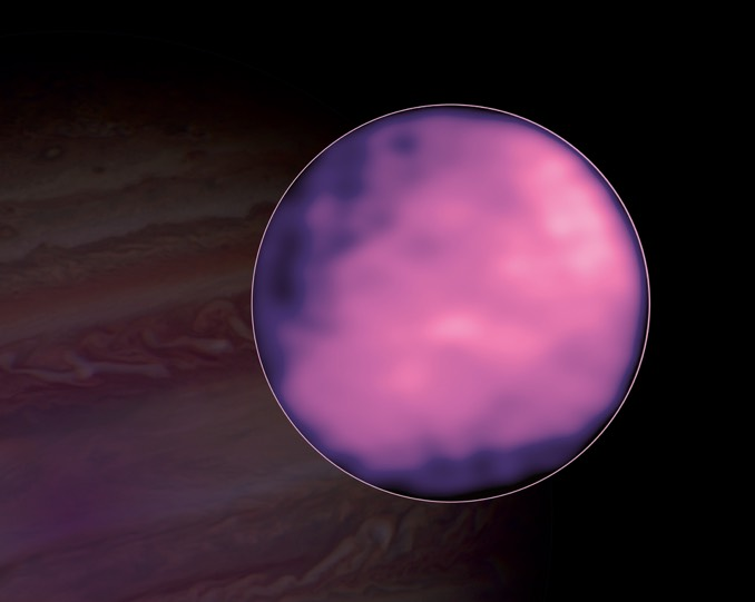 ALMA takes Europa's temperature; heat signatures not seen at plume sites