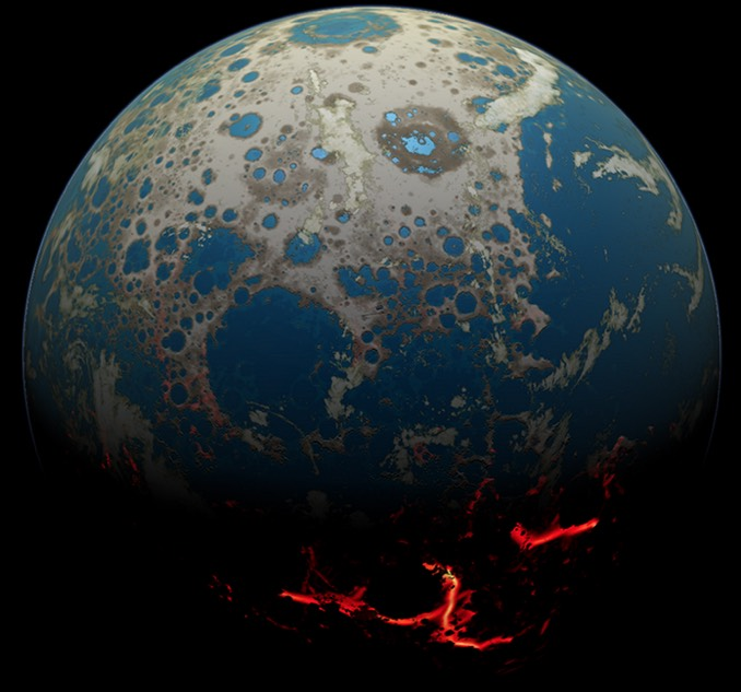 Oldest Earth Rock Found On Moon? Maybe
