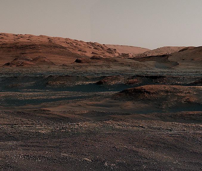 Meraklı Sharp Dağı eteklerinde çarpıcı bir panorama yakaladı…