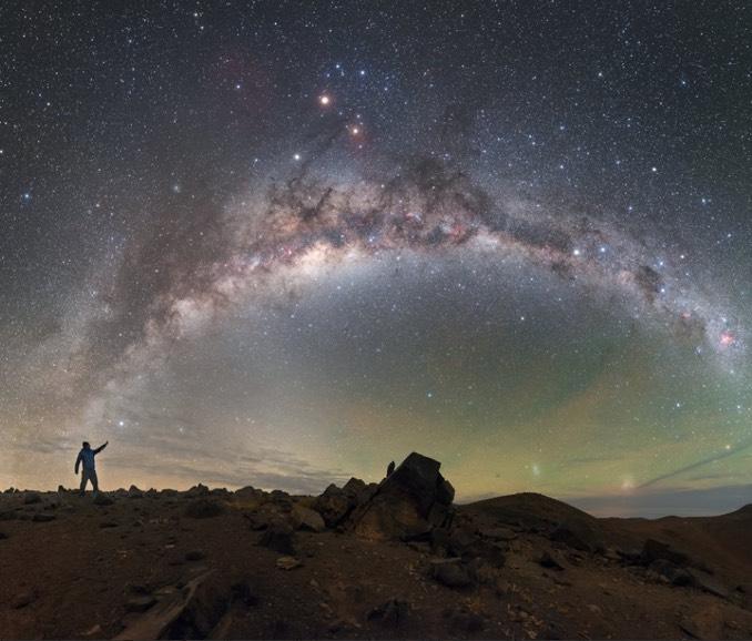 1.5 trilyon güneş kütlesinde bir gökada: Samanyolu…