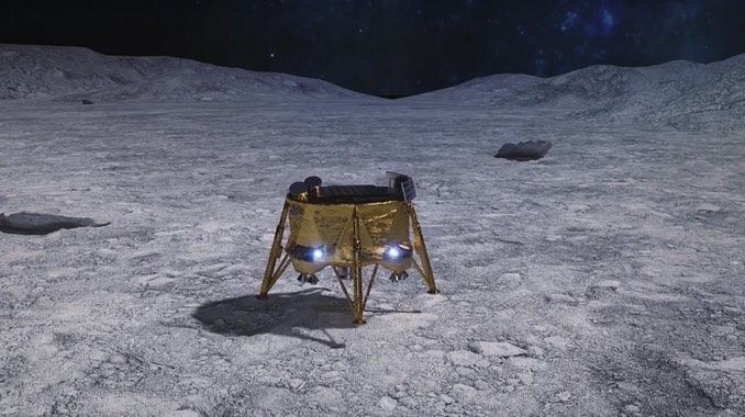 Israeli lunar lander slips into orbit around the moon